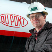 Dupont operations in Belle, West Virginia.  Industrial Portraiture by Alex Wilson.