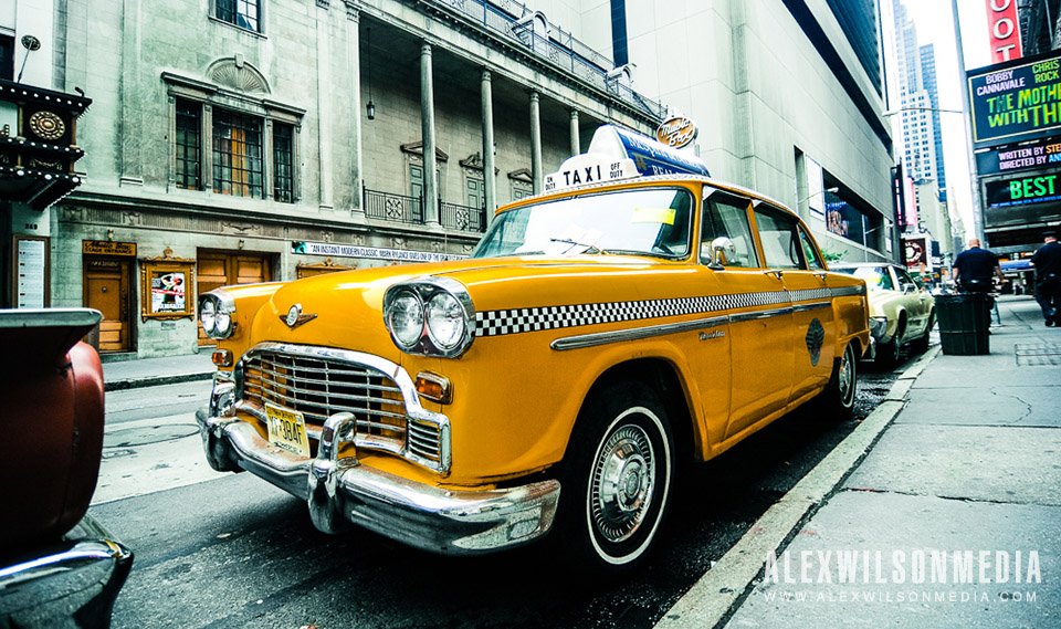 Checker Cab in New York City